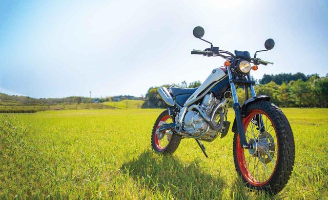 画像: 【写真10枚】ヤマハ「トリッカー」 - webオートバイ