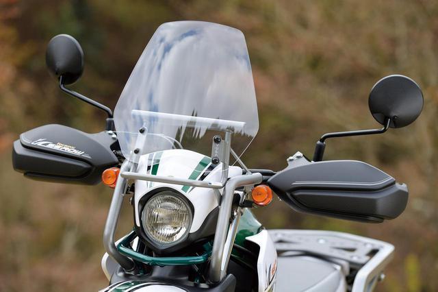 画像: ヤマハ「ツーリングセロー」の詳しい解説 - webオートバイ