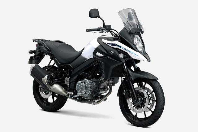 画像: SUZUKI V-Strom650 ABS (2021年モデル) 総排気量:645cc エンジン形式:水冷4ストDOHC4バルブ90°V型2気筒 シート高:835mm 車両重量:212kg 発売日:2021年3月12日(金) メーカー希望小売価格:税込92万4000円