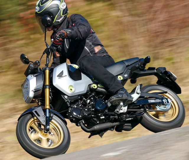 画像: ひと足早くホンダ新型グロムを試乗インプレ!「MSX125 GROM」タイ仕様車の走行性能をテスト(2021年) - webオートバイ