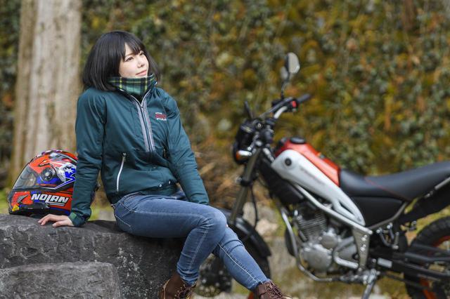 画像: 美環×YAMAHA Tricker【オートバイ女子部のフォトアルバム】 - webオートバイ