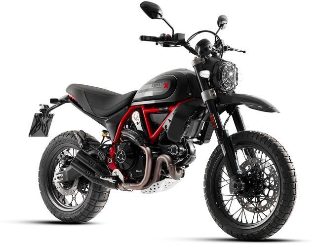 画像: Ducati SCRAMBLER DESERT SLED FASTHOUSE 排気量:803cc エンジン形式:空冷4ストOHC2バルブL型2気筒 シート高:860mm 車両重量:209kg