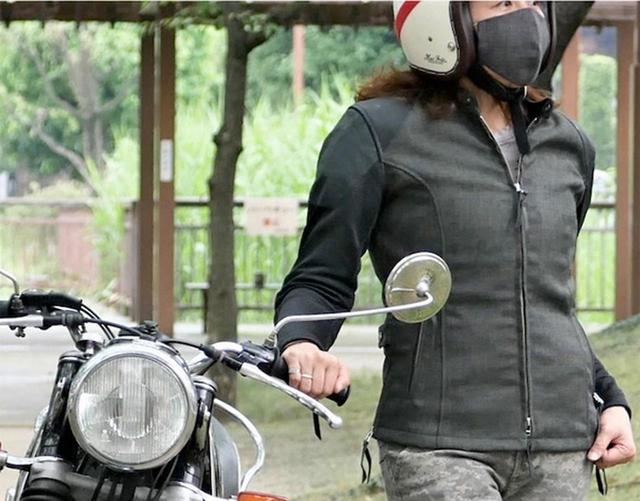 画像: ちょうどいいメッシュジャケット。マックスフリッツから「メッシュスリーブシングルライダースJK」が発売! - webオートバイ