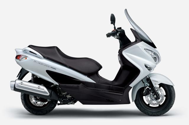 画像7: スズキが「バーグマン200ABS」を発売! 2021年モデルでABSを標準装備し、新色も登場