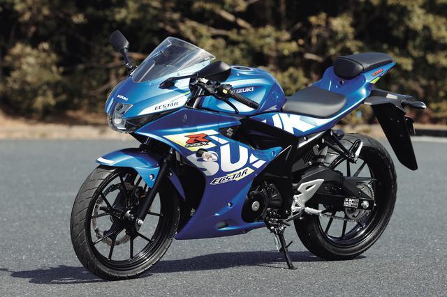 画像: SUZUKI GSX-R125 ABS 総排気量:124cc エンジン形式:水冷4ストDOHC4バルブ単気筒 シート高:785mm 車両重量:134kg メーカー希望小売価格:41万5800円(税込) 2021年モデルの発売日:2021年1月18日