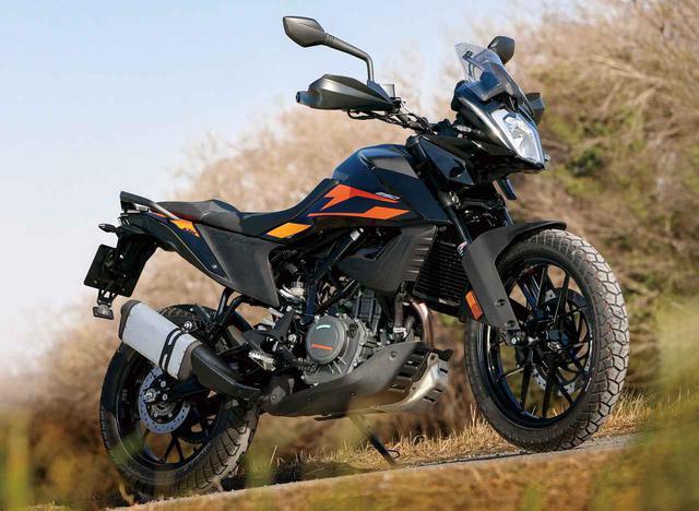 画像: KTM 250 ADVENTURE 総排気量:248.8cc エンジン形式:水冷4ストDOHC4バルブ単気筒 シート高:855mm 乾燥重量:156kg メーカー希望小売価格:税込67万9000円