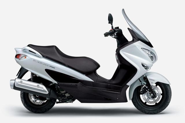 画像2: スズキが「バーグマン200ABS」を発売! 2021年モデルでABSを標準装備し、新色も登場