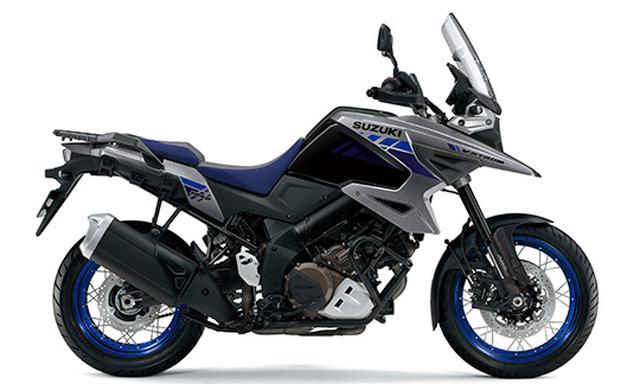 画像3: スズキが「Vストローム1050XT」「Vストローム1050」の2021年モデルを発売! ニューカラーを採用、XTは4色の設定に