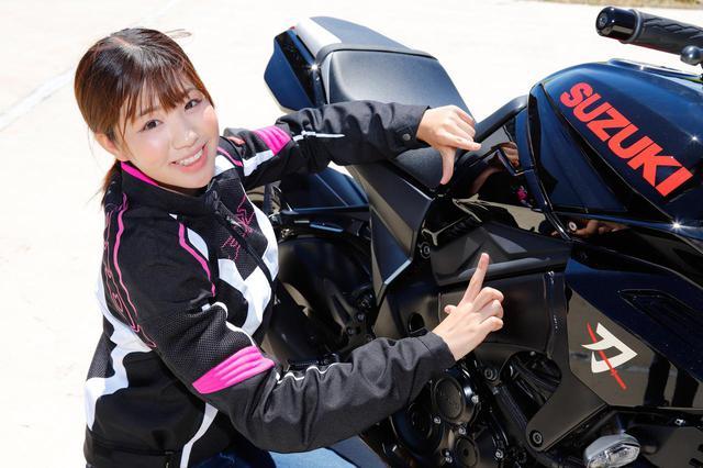 画像: 梅本まどか × KATANA 足つき性もチェック!【オートバイ女子部のフォトアルバム】 - webオートバイ