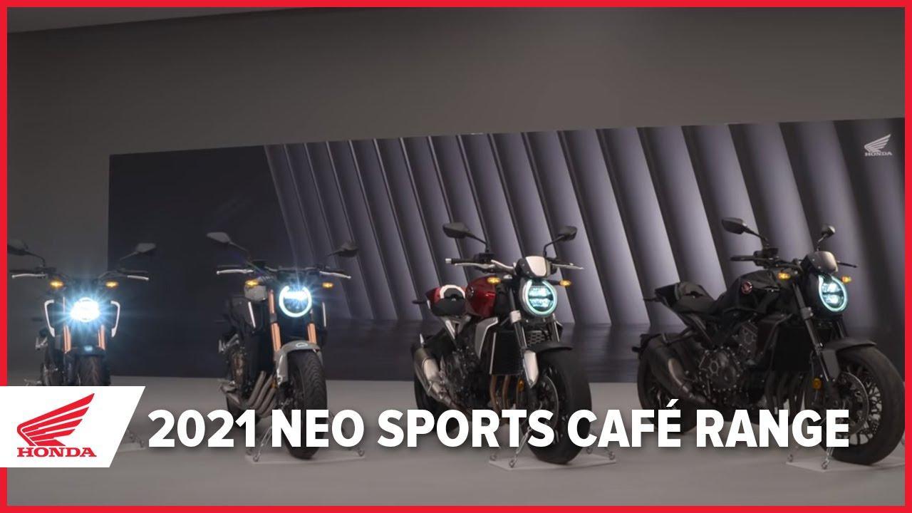 画像: 【欧州ホンダの動画】Honda's Neo Sports Café Line-up for 2021/CB125Rは1分39秒頃~ www.youtube.com