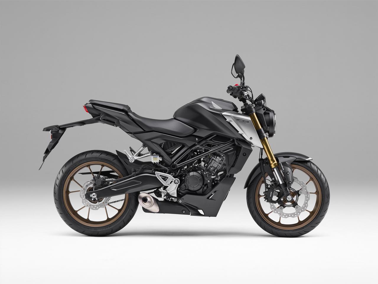 Images : 1番目の画像 - 【写真20枚】ホンダ新型「CB125R」(2021年モデル) - webオートバイ