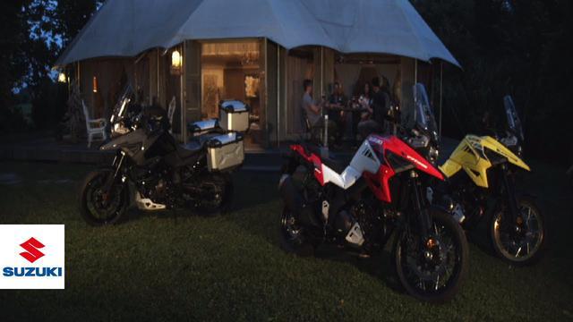 画像: V-STROM 1050/XT 公式映像(カラーは2020年モデル) www.youtube.com