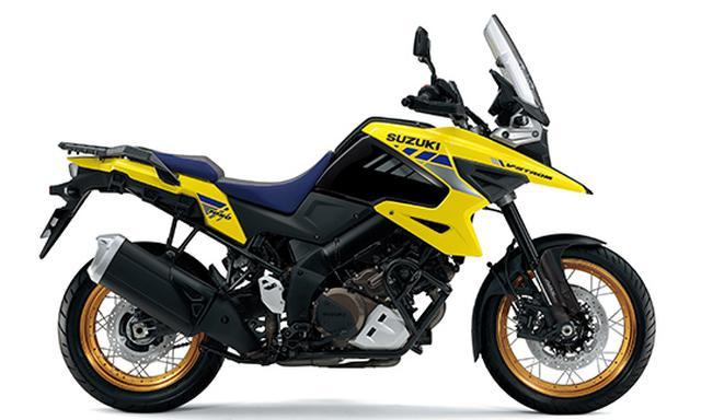 画像1: スズキが「Vストローム1050XT」「Vストローム1050」の2021年モデルを発売! ニューカラーを採用、XTは4色の設定に