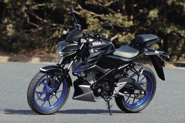 画像: SUZUKI GSX-S125 ABS 総排気量:124cc エンジン形式:水冷4ストDOHC4バルブ単気筒 シート高:785mm 車両重量:133kg メーカー希望小売価格:38万2800円(税込) 2021年モデルの発売日:2021年1月18日