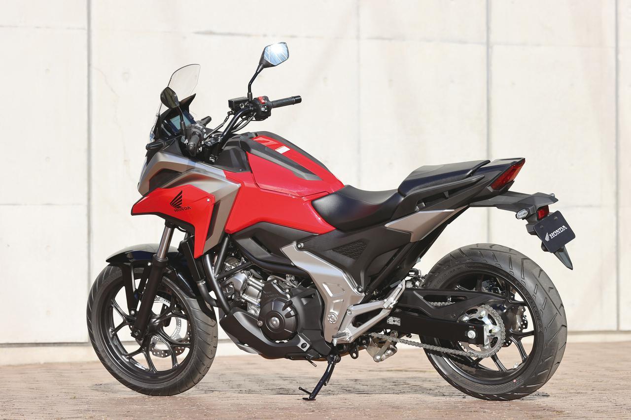 Images : 3番目の画像 - 【写真12枚】ホンダ「NC750X」2021年モデル - webオートバイ