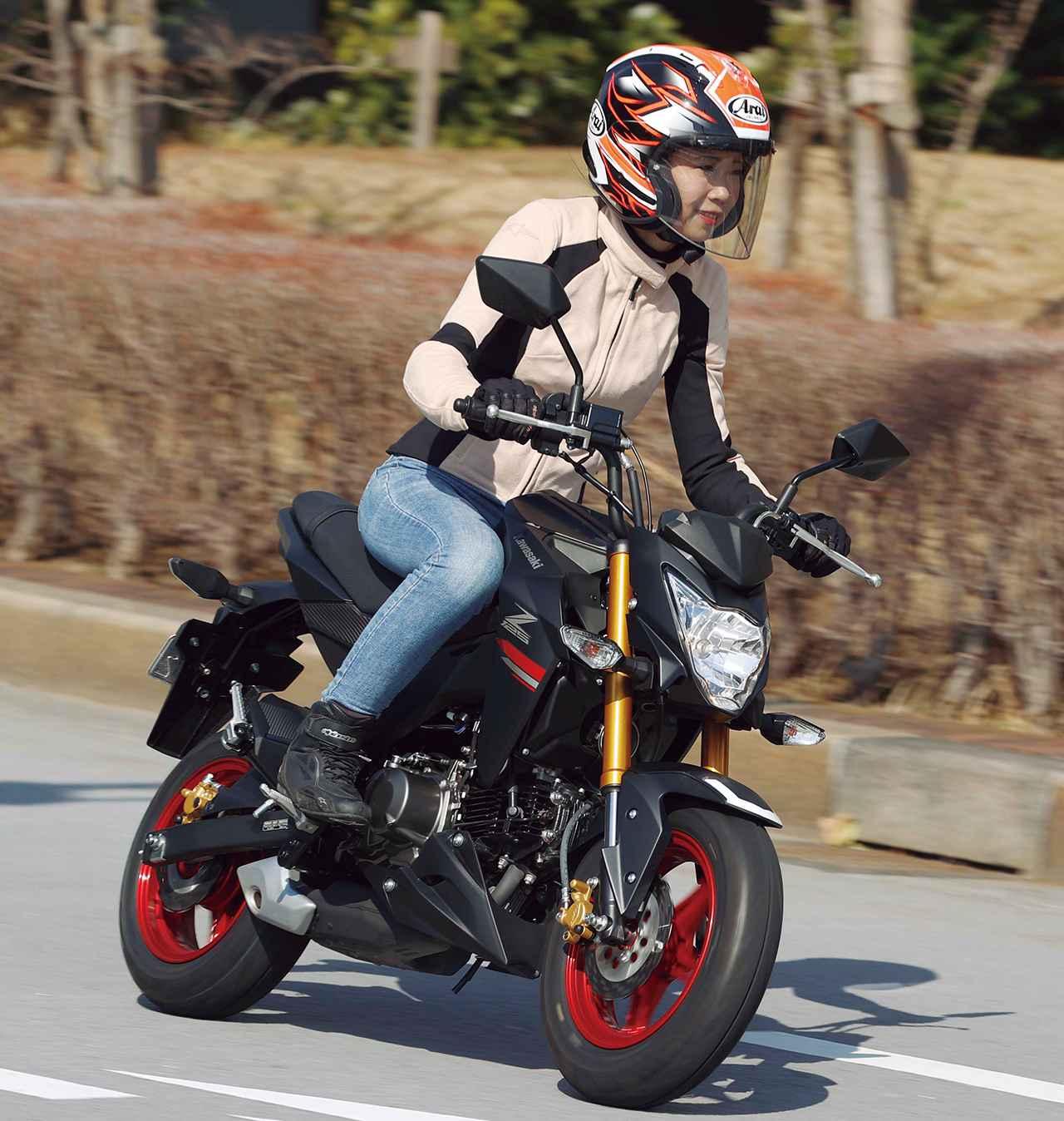 Images : 4番目の画像 - 【写真14枚】カワサキ「Z125 PRO」 - webオートバイ