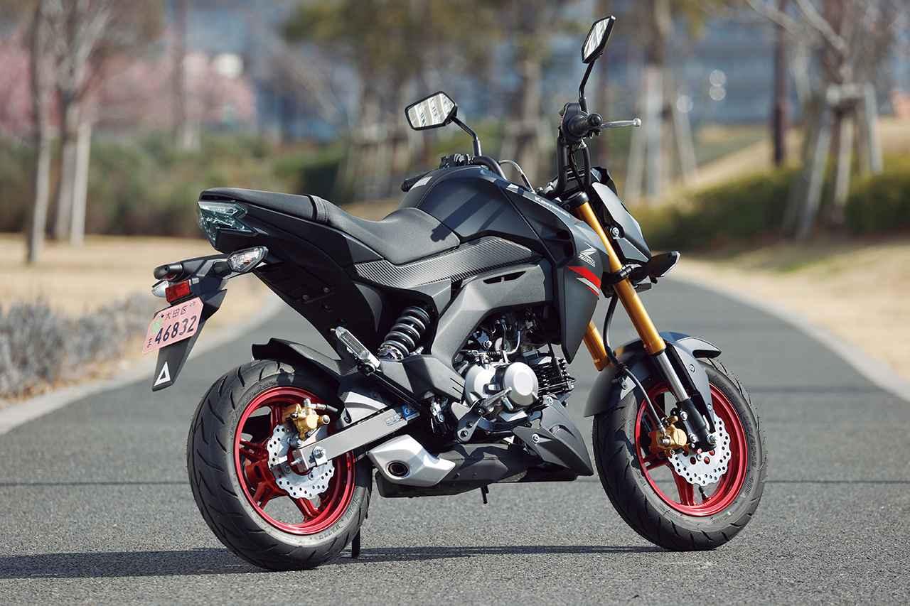 Images : 3番目の画像 - 【写真14枚】カワサキ「Z125 PRO」 - webオートバイ