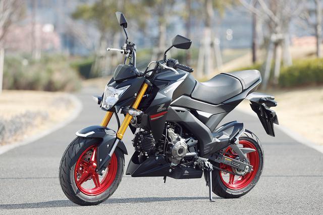 画像: Kawasaki Z125 PRO 総排気量:124cc エンジン形式:空冷4ストSOHC2バルブ単気筒 シート高:780mm 車両重量:102kg メーカー希望小売価格:35万2000円(税込) 2021年モデルの発売日:2020年10月1日