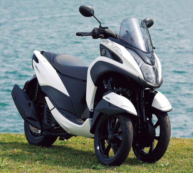 画像: 【総合インプレ】ヤマハ「トリシティ125」(2020年) - webオートバイ