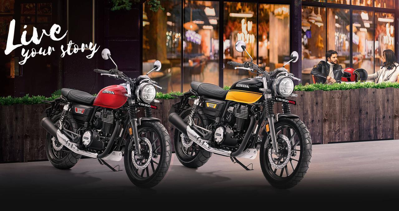 画像: Honda CB350RS 2021年2月に発表されたインド仕様車 総排気量:348.36cc エンジン形式:空冷4ストSOHC4バルブ単気筒 シート高:800mm 車両重量:179kg