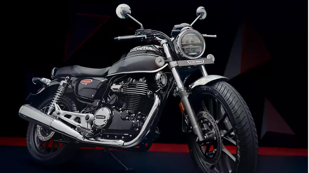 画像: インドホンダ「ハイネスCB350」の情報 - webオートバイ