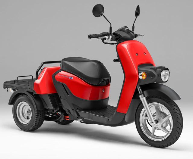 画像2: ホンダが電動3輪バイク「ジャイロ e:」を発表! 新時代に向けた人にも環境にも優しいビジネス3輪EVスクーター【2021速報】