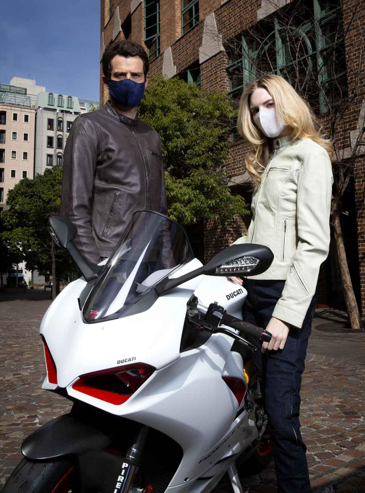 画像1: ライディング以外にも着られるこの季節にピッタリなレザージャケット。 2021年春の最新バイクウェア#1をご紹介byゴーグル2021年3月24日発売号
