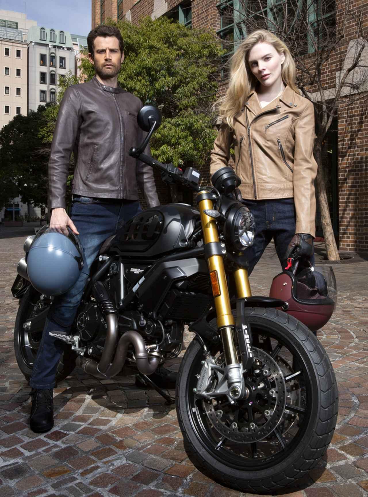 画像: RIDEZ(ライズ TEL 045-628-9666) 車両 SCRAMBLER 1100 Sport Pro 1,569,000円/Ducati( ドゥカティジャパン  0120-411-962)