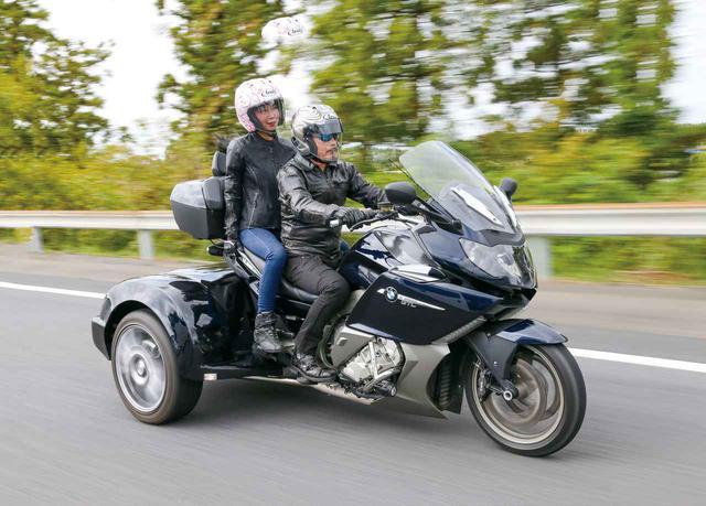 画像: タンデマーもにっこり、究極の快適性とはこのことか?「BMW K1600GTL トライク」(サクマエンジニアリング) - webオートバイ