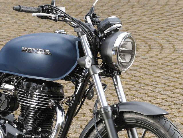 画像: ホンダが新型バイク「GB350」を公開! 空冷単気筒エンジンを搭載したハイネスCB350の日本版が登場 - webオートバイ