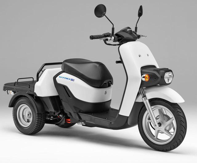 画像1: ホンダが電動3輪バイク「ジャイロ e:」を発表! 新時代に向けた人にも環境にも優しいビジネス3輪EVスクーター【2021速報】