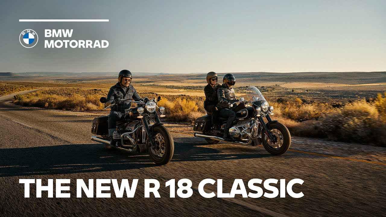 画像: The new BMW R 18 Classic www.youtube.com