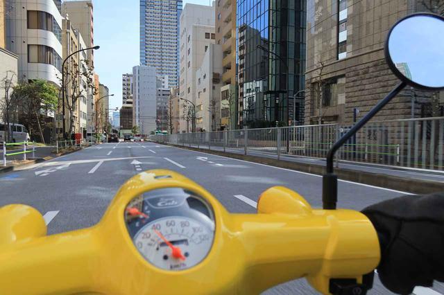 画像1: 街中を普通に走る速度がスーパーカブ110の楽しい速度