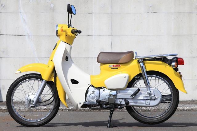 画像: シンプルさが魅力のスーパーカブ110。税込価格は28万500円でダントツにお手ごろ。