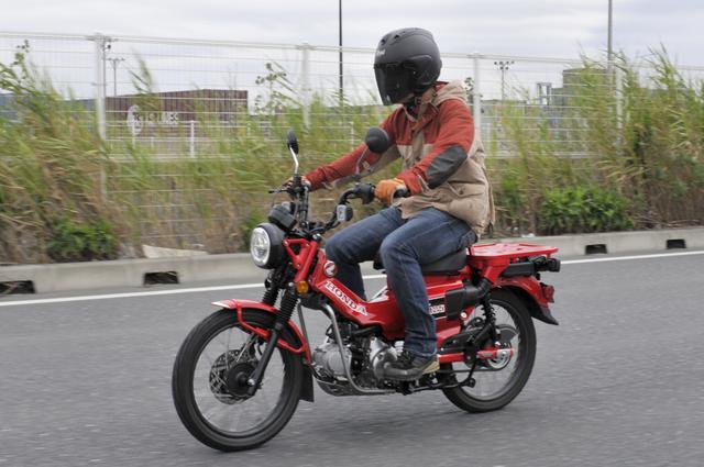 画像: Honda CT125 Hunter Cub 総排気量:124cc エンジン形式:空冷4ストSOHC単気筒 シート高:800mm 車両重量:120kg メーカー希望小売価格:税込44万円