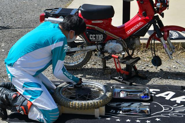 画像2: タイヤ交換について