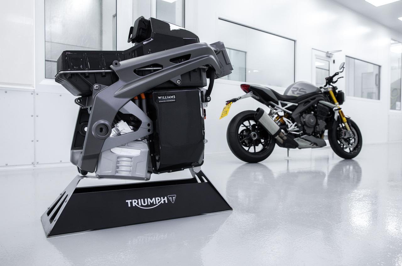 画像1: トライアンフ製の市販電動モーターサイクル開発が目標