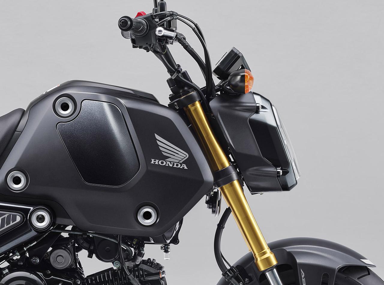 新型 2021 グロム 【2021速報】ホンダが新型グロムを欧州&タイで発表! 5速ミッション・6L燃料タンク・多機能メーターなどユーザー想いの充実進化!(webオートバイ)