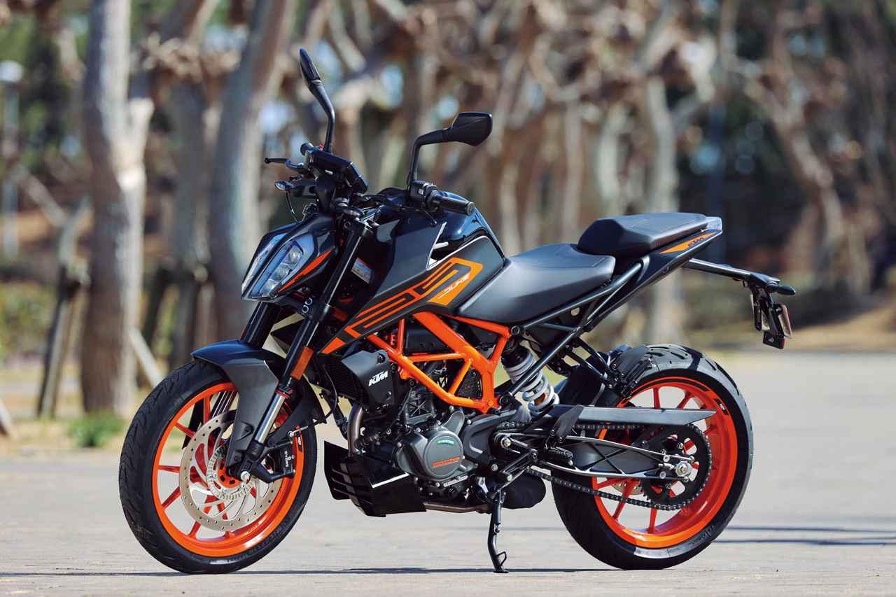 画像: KTM 125 DUKE 総排気量:124.7cc エンジン形式:水冷4ストDOHC4バルブ単気筒 シート高:830mm 車両重量:139kg(乾燥) メーカー希望小売価格:53万9000円(税込) 2021年モデルの発売日:2021年2月