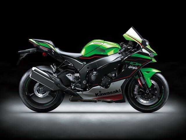 画像: Kawasaki Ninja ZX-10R 2021年モデル ※写真はNinja ZX-10R KRT EDITION 総排気量:998cc エンジン形式:水冷4ストDOHC4バルブ並列4気筒 最高出力:149kW(203PS)/13200rpm ラムエア加圧時156.8kW(213.1PS)/13200rpm シート高:835mm 車両重量:207kg 発売日:2021年5月28日予定 メーカー希望小売価格:税込229万9000円