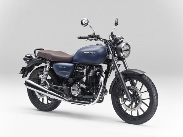 画像: Honda GB350 排気量:348cc エンジン形式:空冷4ストSOHC単気筒 シート高:800mm 車両重量:180kg 発売日:2021年4月22日 予定 メーカー希望小売価格:税込55万円