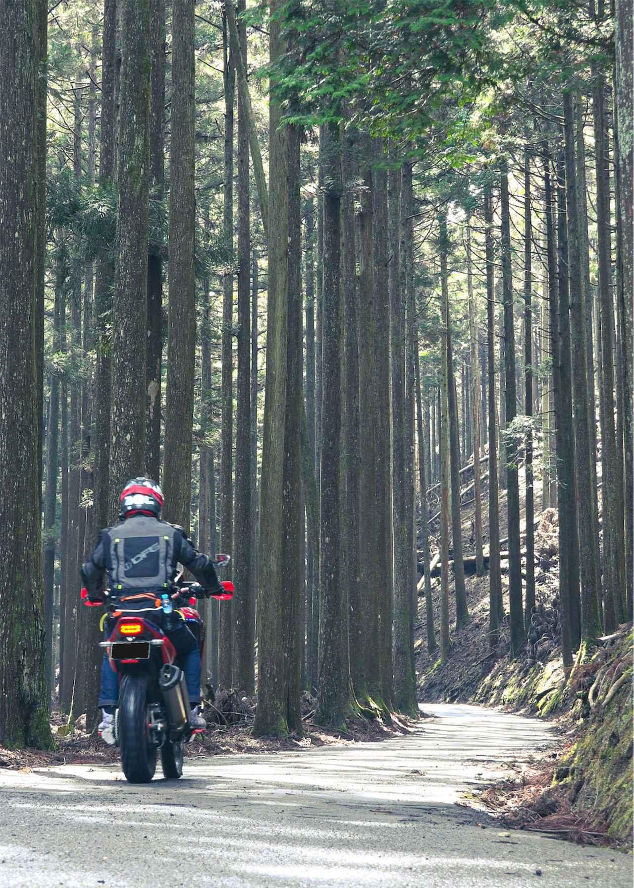 画像4: 試練は続く…なんと山は極寒、道は極細!