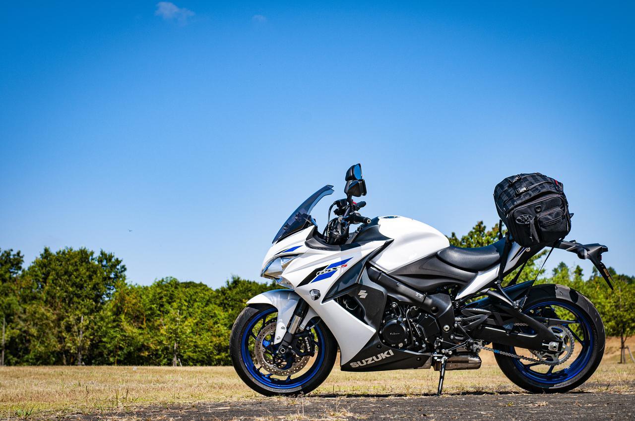 画像: 『GSX-S1000F』の唯一の弱点? ツーリングバッグの積載を考える! - webオートバイ