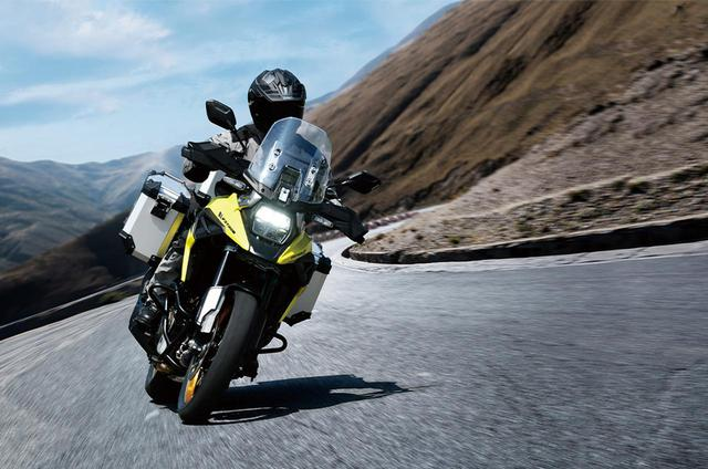 画像: 「Vストローム1050XT」「Vストローム1050」の2021年モデル情報 - webオートバイ