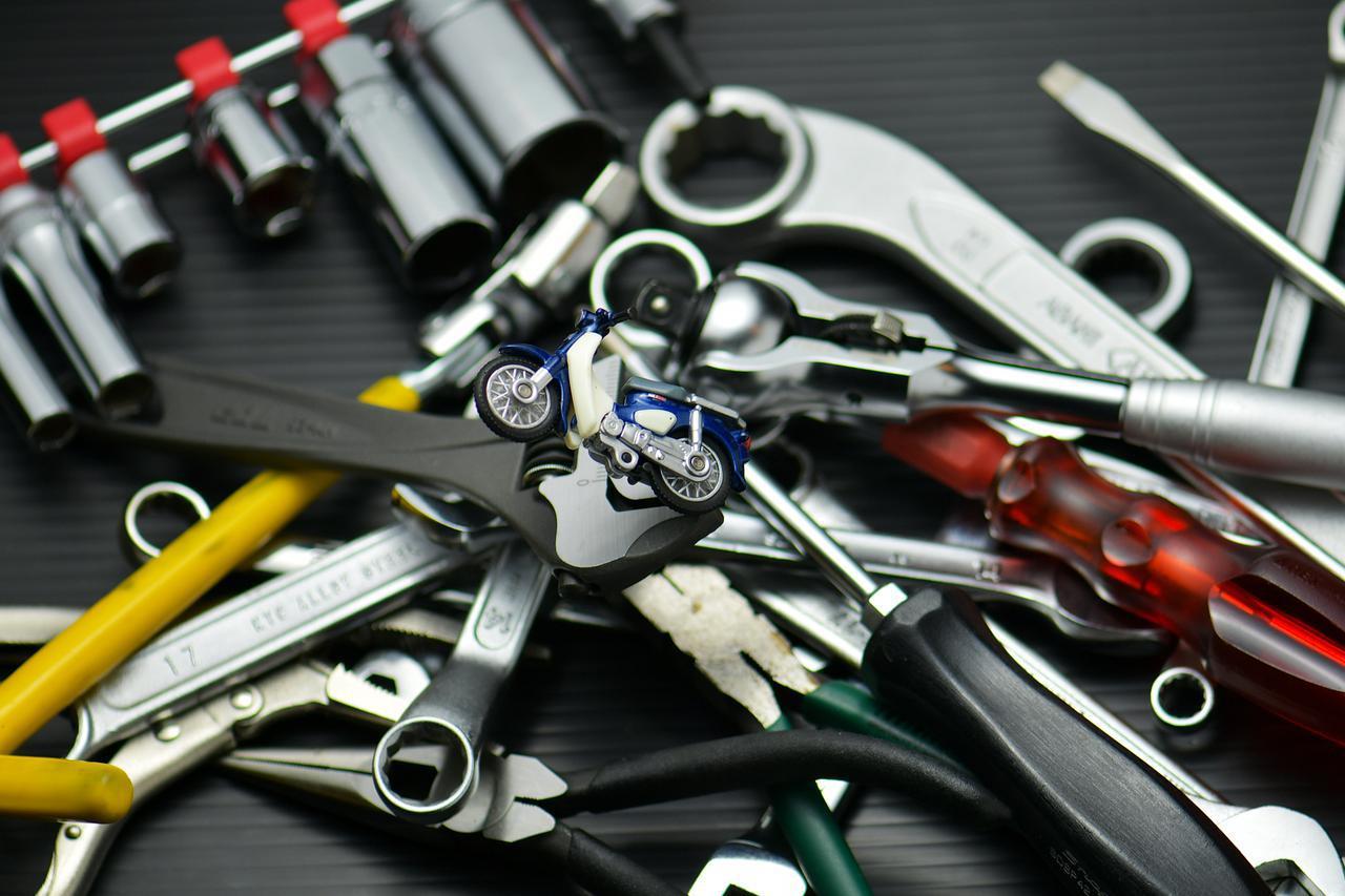 画像: ホンダSUPER CUB50/70/90の工具を考える① 日常使いのメンテナンス工具編 - webオートバイ