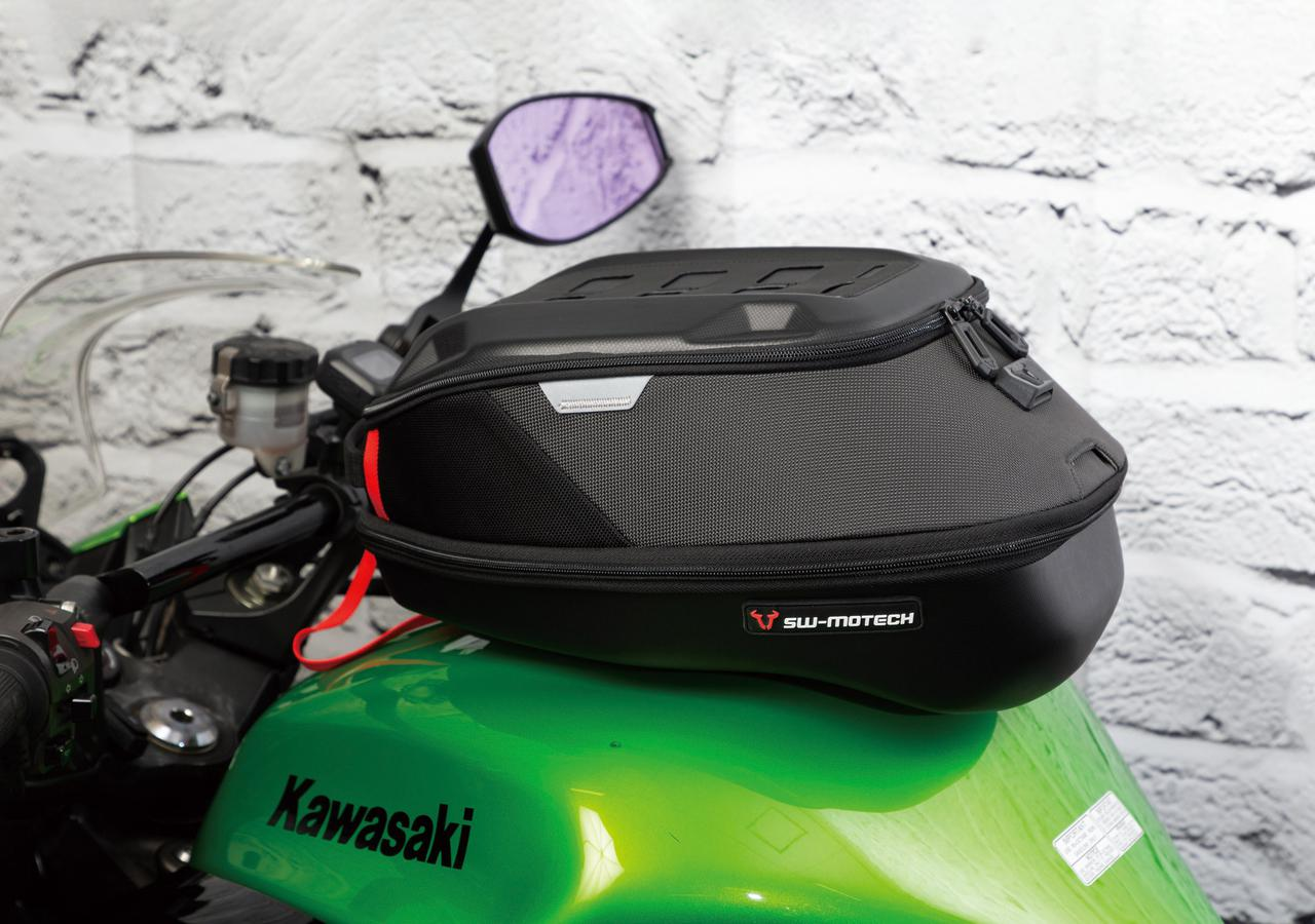 Images : 2番目の画像 - 【写真4枚】エスダブリューモーテック「PROタンクバッグ」 - webオートバイ