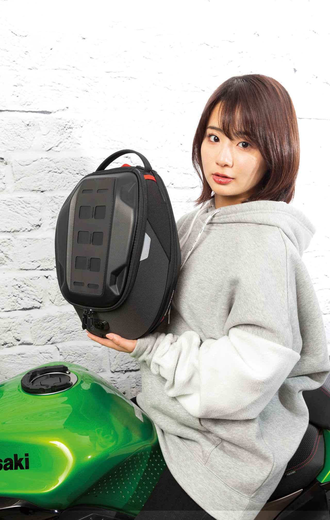 Images : 1番目の画像 - 【写真4枚】エスダブリューモーテック「PROタンクバッグ」 - webオートバイ
