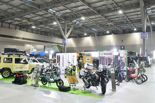 画像: 『Benelli(ベネリ)』が4台のバイクをアウトドアイベント「フィールドスタイル ジャンボリー2020」でお披露目 - webオートバイ