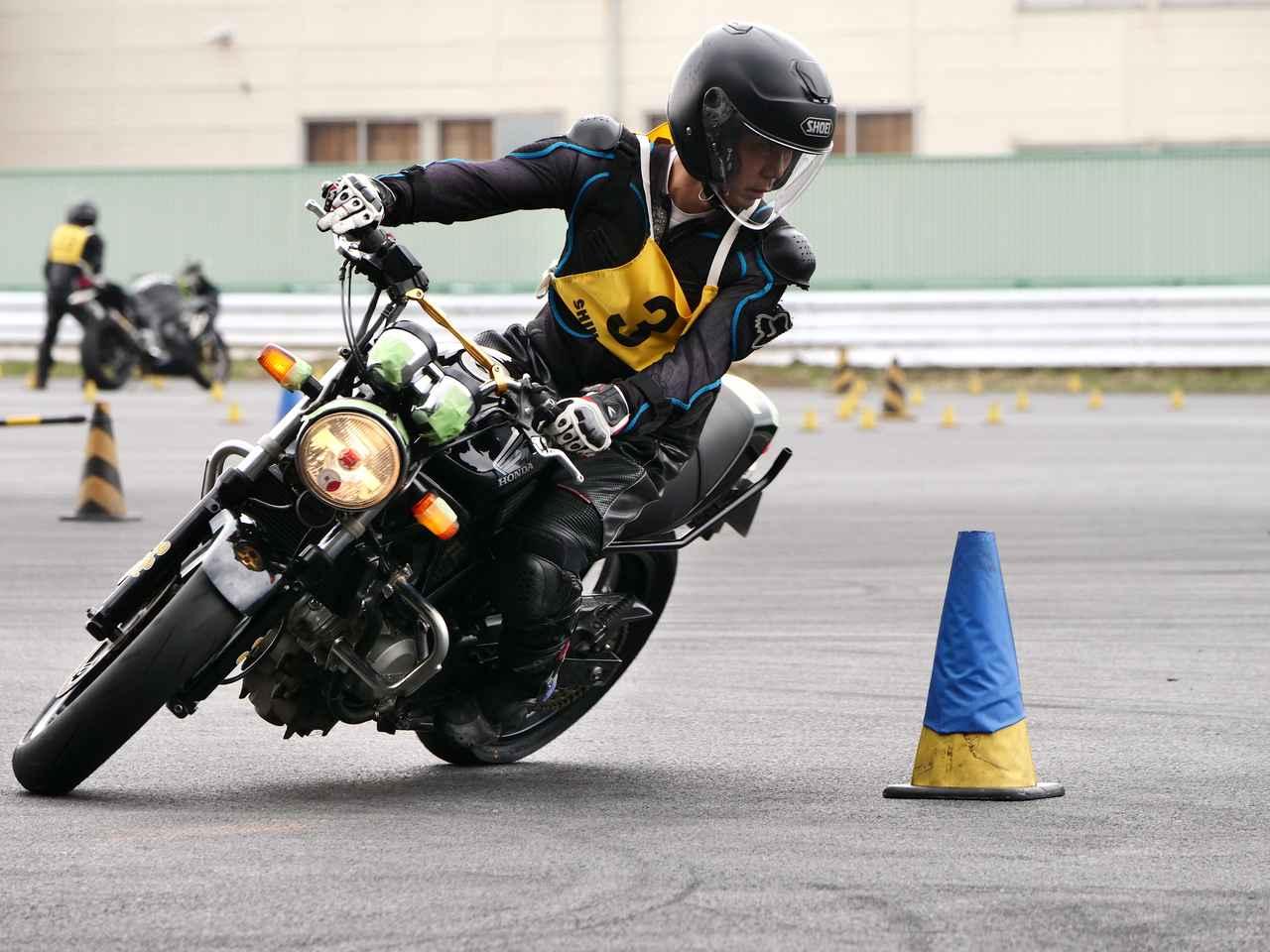 画像: ●NO級3位・河本一郎選手&VTR250 1分51秒937