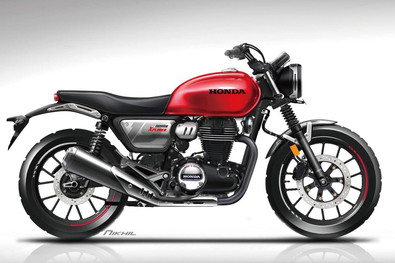 Images : 4番目の画像 - 【写真6枚】ホンダ「GB350」「GB350S」デザイン関連 - webオートバイ